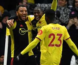 Deux nouveaux joueurs de Watford en quarantaines pour Covid-19. AFP