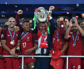 Portugal won the last edition of the competition. AFP