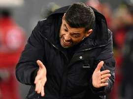 Para Conceição só a vitória importa frente ao Vitória de Setúbal. AFP
