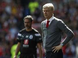 Wenger n'a pas de club pour l'instant. AFP