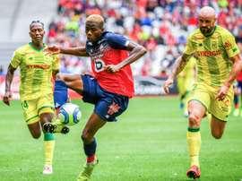 Les compos probables du match de Ligue 1 entre Amiens et Nantes. AFP