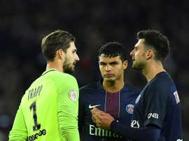 Trapp to consider PSG future. AFP
