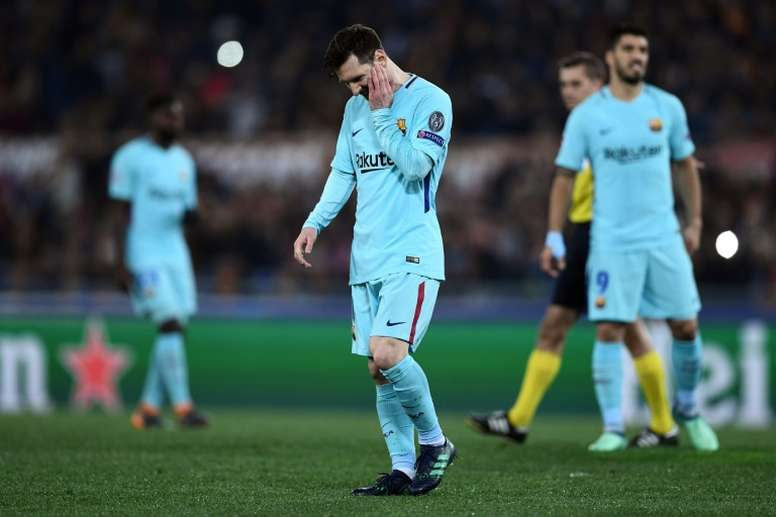 Messi has not been at 100 per cent for a while. AFP