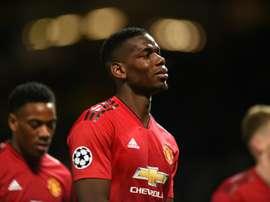 Matuidi et Pogba n'ont pas vécu la même soirée. AFP