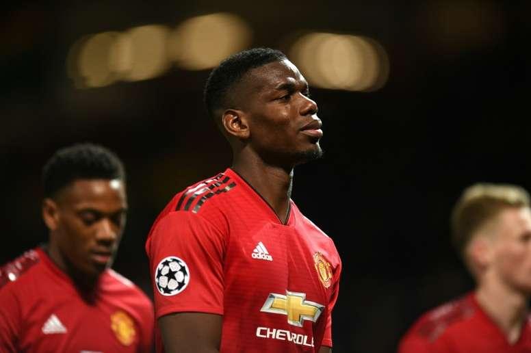 Paul Pogba enfin de retour. AFP
