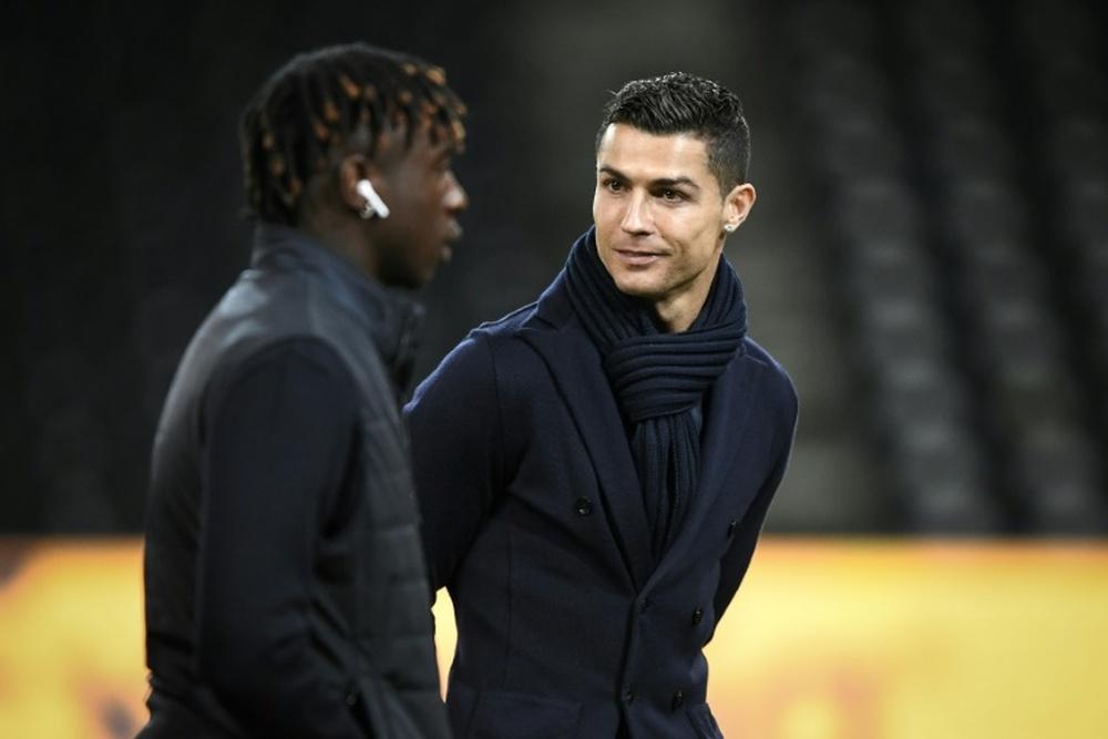 Après Ronaldo, la Juventus joue la carte jeunes. afp