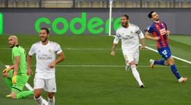 Le Real renvoie la balle dans le camp du Barça. AFP