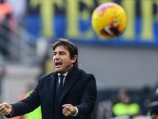 L'Inter Milan toujours au ralenti. AFP
