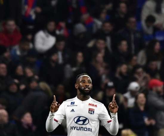 Fulham a tenté le coup pour Moussa Dembélé. AFP