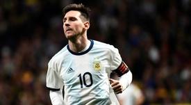 La grande différence entre le Messi albiceleste et le Messi blaugrana. AFP