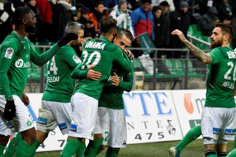 Les compos probables du match de Ligue Europa entre Wolfsburg et Saint-Étienne. AFP