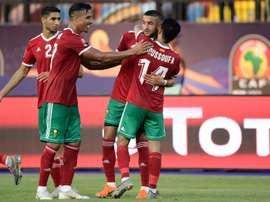 Les compos probables du match de la CAN entre l'Afrique du Sud et le Maroc. AFP