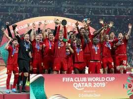 Liverpool é o atual campeão do mundo. AFP