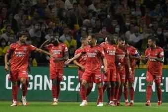 El Lyon firma la primera victoria gracias a Moussa Dembélé