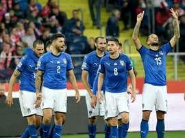 Vittoria dell'Italia nella Nations League. AFP