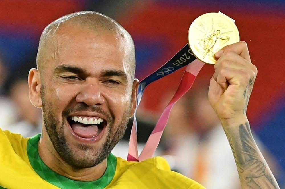 Dani Alves, la guinda del pastel de Flamengo. AFP