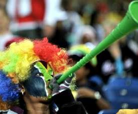 Dix ans après son Mondial, bilan mitigé pour le foot sud-africain. AFP
