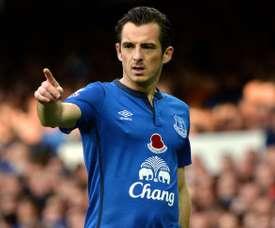 Le joueur qui a refusé le Real Madrid pour rester à Everton. AFP