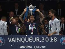 Nouveau report. AFP