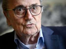 Blatter nie tout pot-de-vin pour l'attribution des Mondiaux. AFP