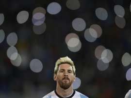 Messi est le rêve de son tout premier club. AFP
