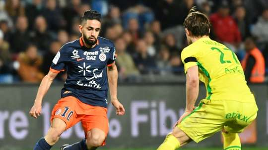 Montpellier reçoit Nantes. AFP
