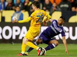 Gianniotas confesó que llega a Valladolid para pelear por el ascenso. AFP