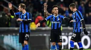 Partida entre Inter e Ludogorets terá portões fechados. AFP