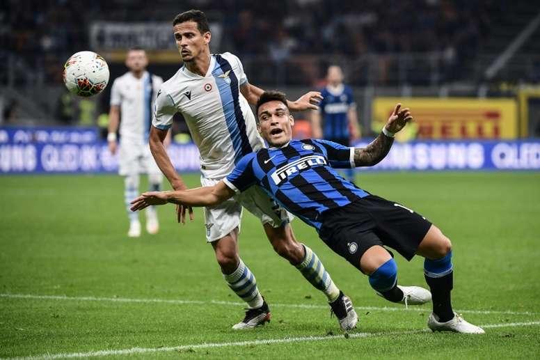 La Lazio vuole blindare Luiz Felipe. AFP