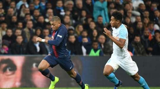 L'attaquant du PSG Kylian Mbappé. AFP