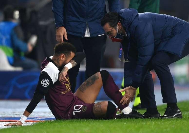 Le PSG privé de Neymar jusqu'à la trêve ? AFP