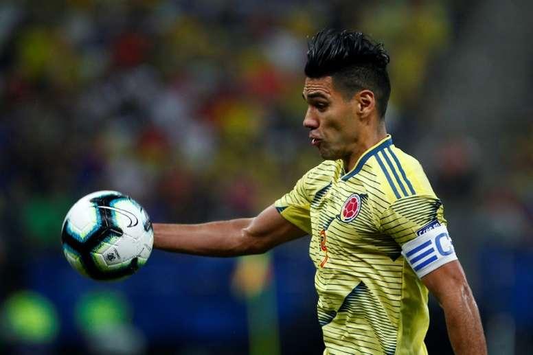 Falcao está cerca de poner rumbo al Galatasaray. AFP