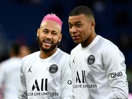 Neymar and Mbappe are in PSG's squad for their friendly at Le Havre. AFP