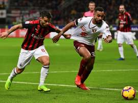 Milan - Torino: onzes iniciais confirmados. AFP