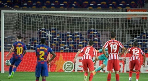 Il Barcellona pareggia contro l'Atletico. AFP