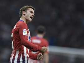 O Atlético de Madrid venceu o Rayo Vallecano por 1-0. AFP