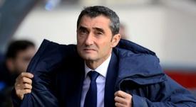 Valverde quer seguir as ideias do Barça. AFP