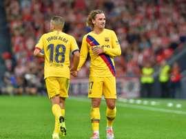 Les compos probables du match de Liga entre le Barça et le Betis Séville. AFP