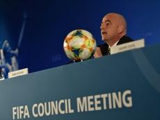 La Chine accueillera la Coupe du monde des clubs 2021. AFP