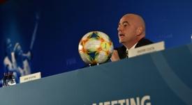 La FIFA ya tiene su calendario internacional hasta 2024. AFP