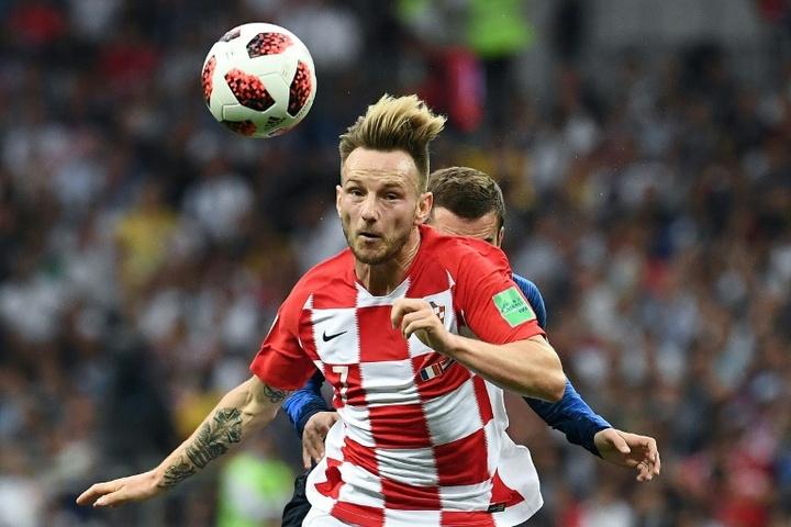 Rakitic ve a Croacia capacitada para hacer daño a España. AFP