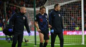 Croacia disfruta más de Modric que el Madrid. AFP