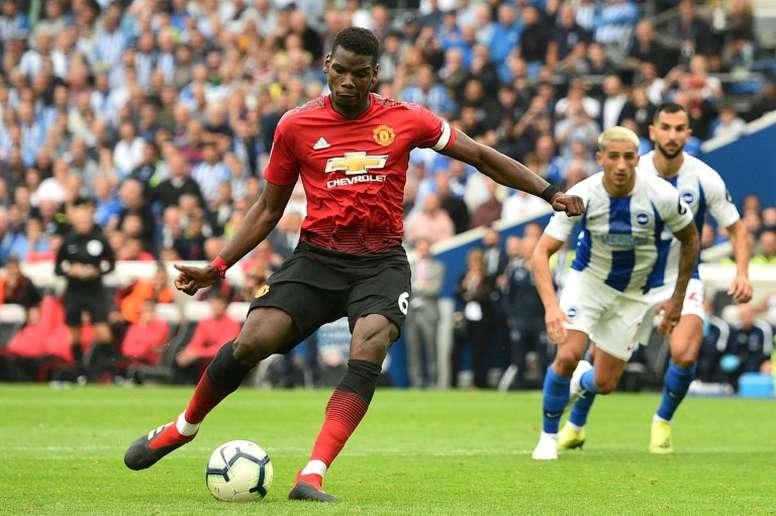 Makelele cree que el juego de Francia le va mejor a Pogba. AFP