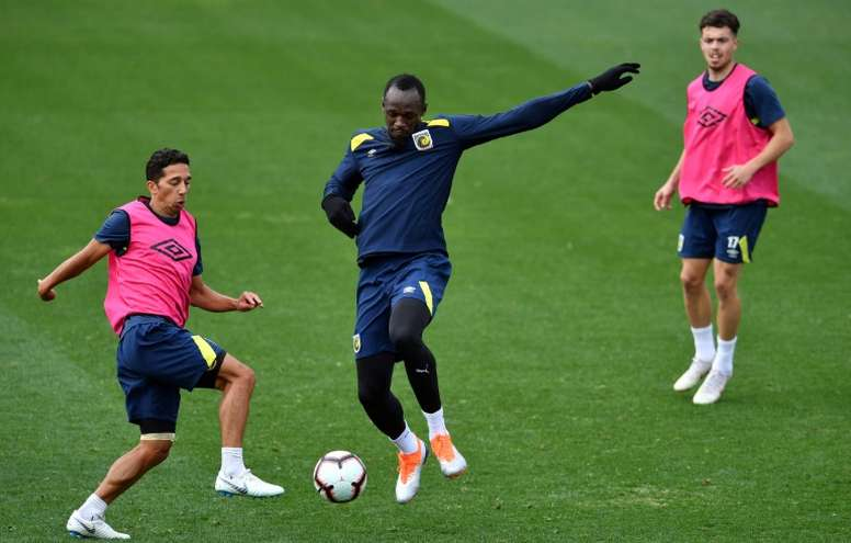 Bolt commence l'adaptation. AFP