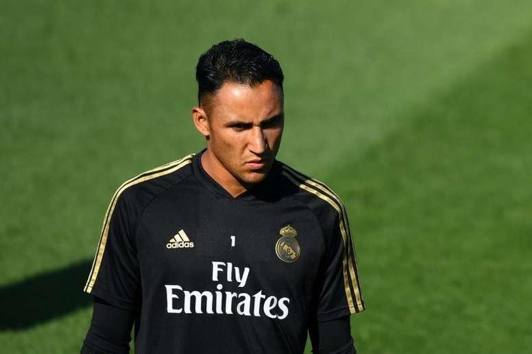 Le groupe du Real Madrid contre Valladolid en Liga. AFP