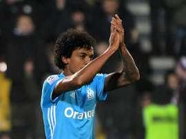Luiz Gustavo apontou o terceiro do Marseille. AFP