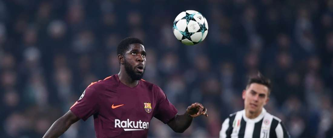 Umtiti's injury could mean Barcelona give an opportunity to Costas. AFP