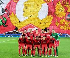 El Spartak volvió a sumar los tres puntos ante el Ural. AFP