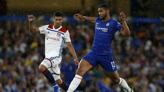 Loftus Cheek has only made two appearances for Chelsea this season. AFP