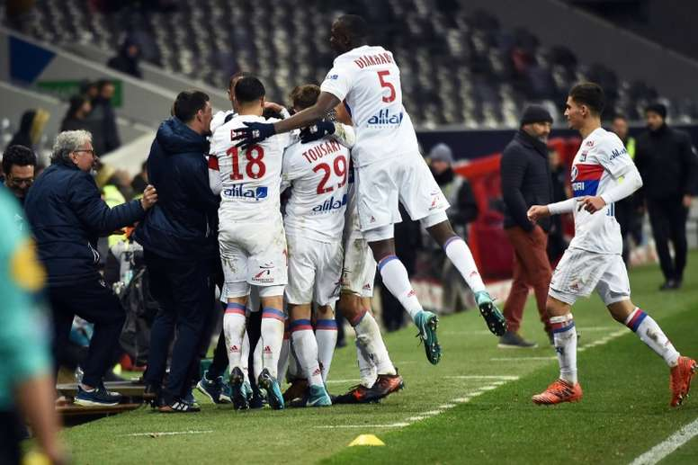 Lyon doit gagner ce match à sa portée. AFP